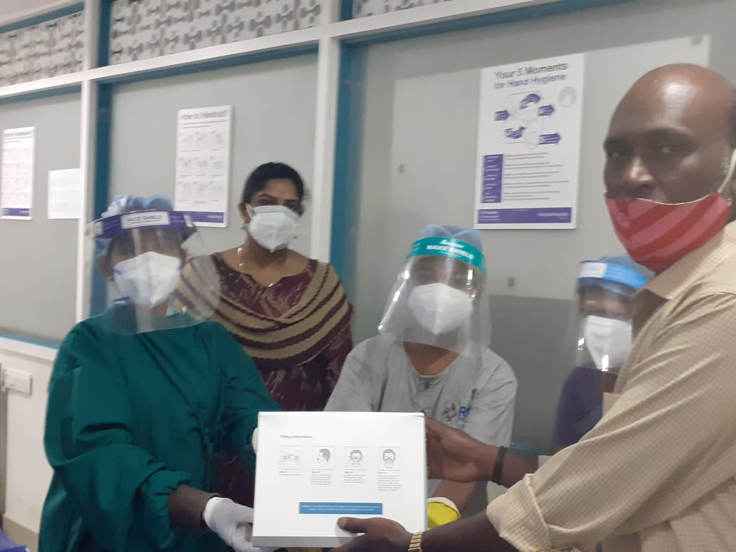PPE KIT DISTRIBUTIONS